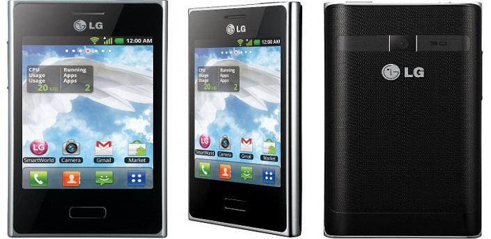 Tutorial – LG Optimus L3 – LG E400 / ROM Gingerbread 2.3 Limpa sem