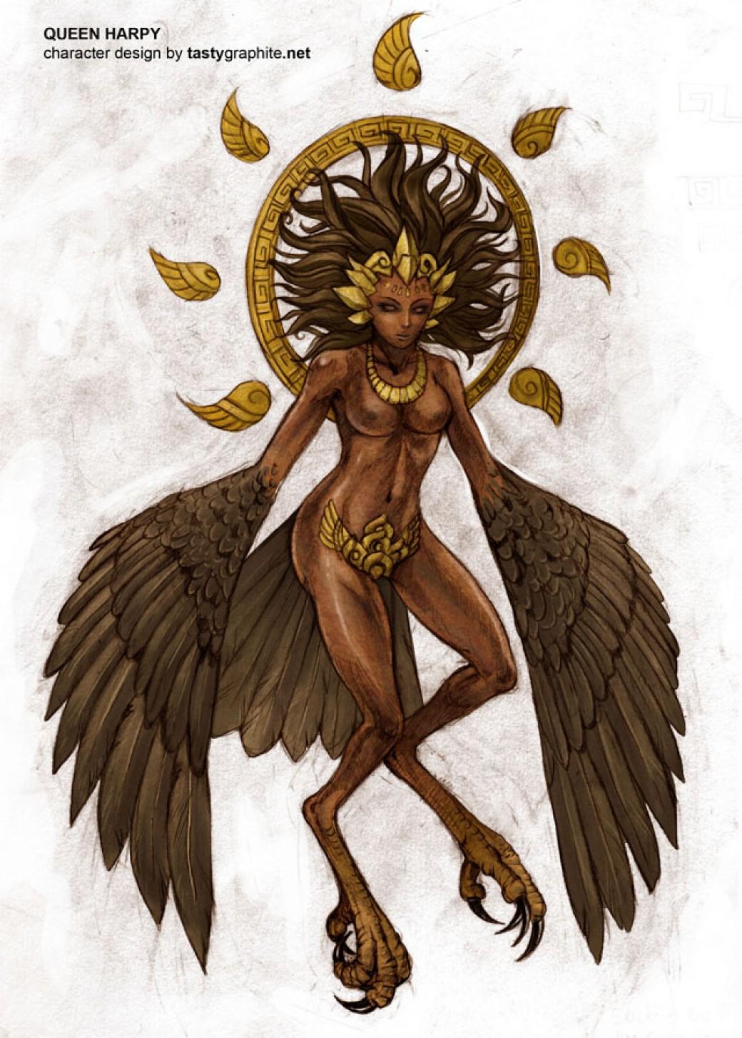 Queen Harpy por Derlaine8