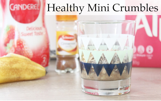 healthy mini crumbles