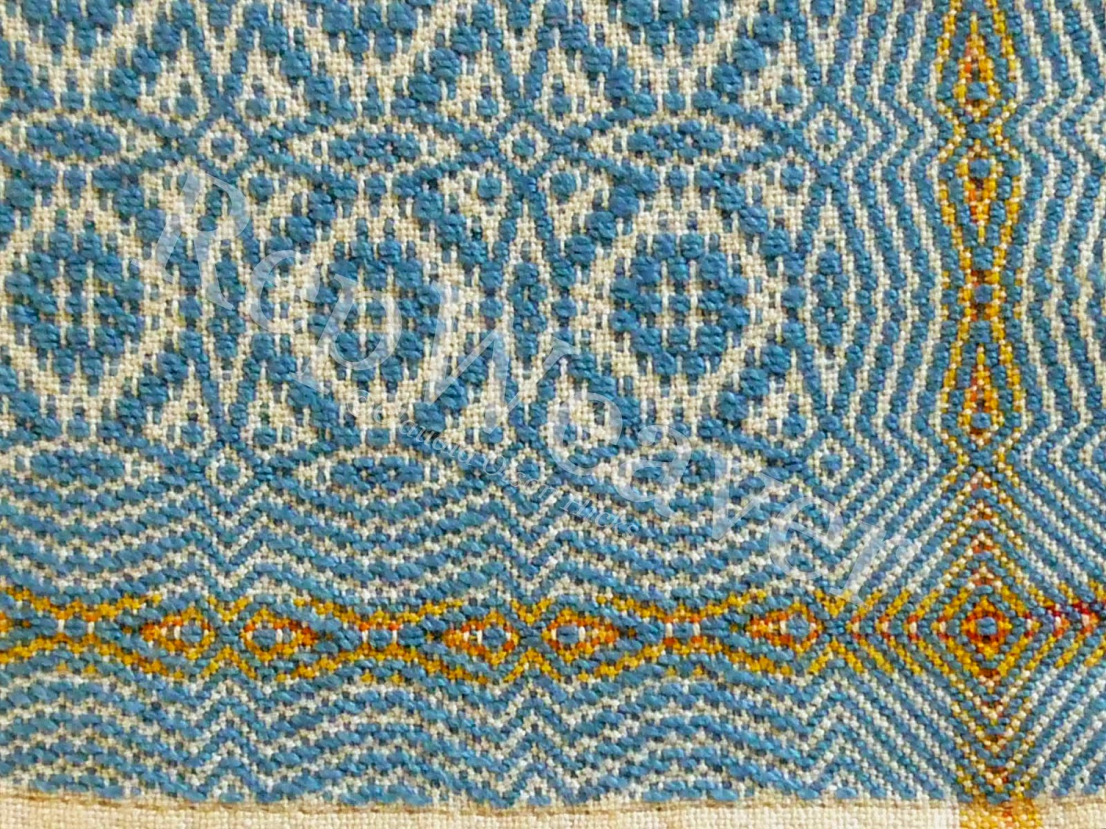 Detail of Wee Coverlet