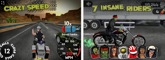 Highway Rider - Game Balap Motor Android Terbaik