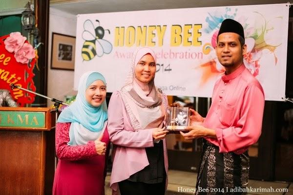HBO meraikan anugerah CDM Hamisah dlm Honey Bee Award