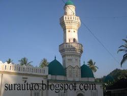 Kompleks Surau besar Maulana Syekh Abdurrahman bin Abdullah an-Naqsyabandi Batu Hampar