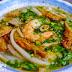 Đi ăn bánh canh bột gạo cắt mới lạ ở Quận 01