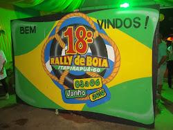 Portal de entrada para o 18º Rally de Bóias, em 2010.