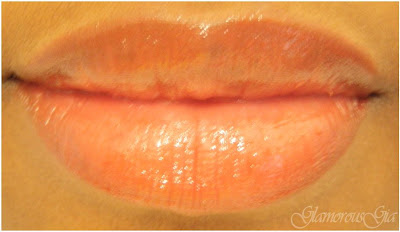 Lipstick review and swatch of AVON bog color, glossy lip pencil in glossy sand, which is a nice brown color.