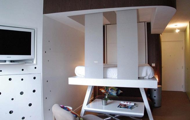 Marzua camas bed up para ganar espacio - Decoration studio 25m2 ...