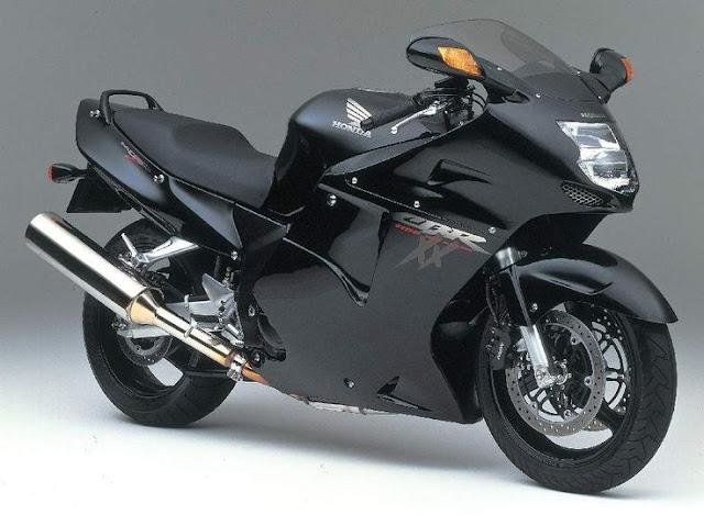 Gambar Sepeda Motor Honda CBR 1100xx Blackbird 01