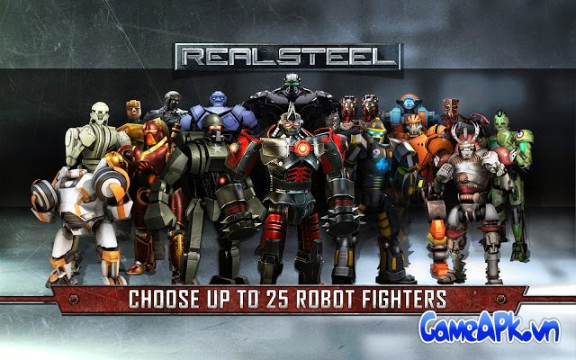 Real Steel HD v1.6.6 Unlocked cho Android