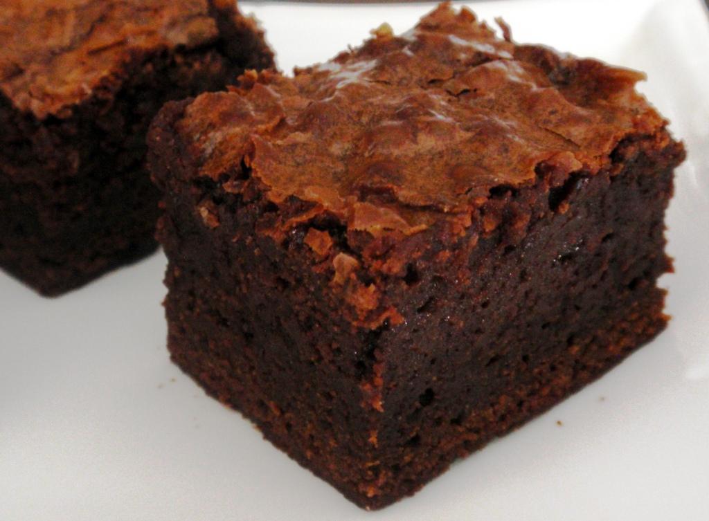 Triple Chocolate Brownies Recipe Dishmaps
