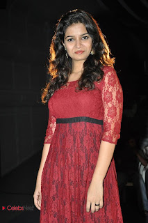Swathi Pictures in Red Dress at Swamy Ra Ra Movie 50 Days Function  0017