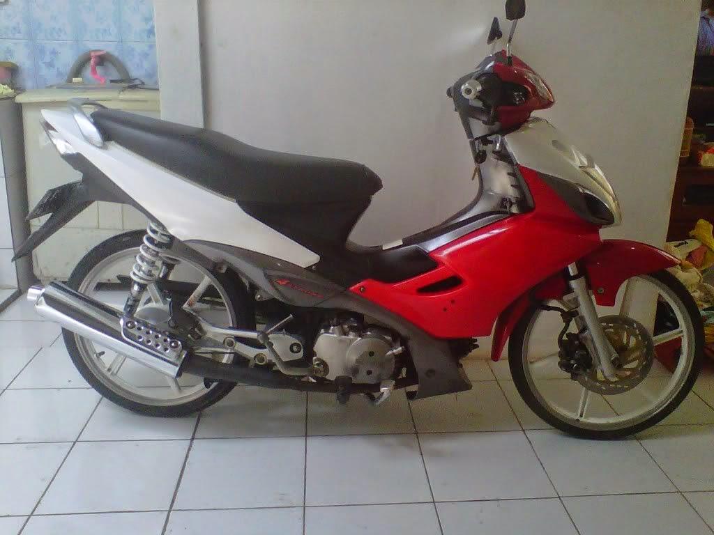 Modifikasi Suzuki Arashi 2006