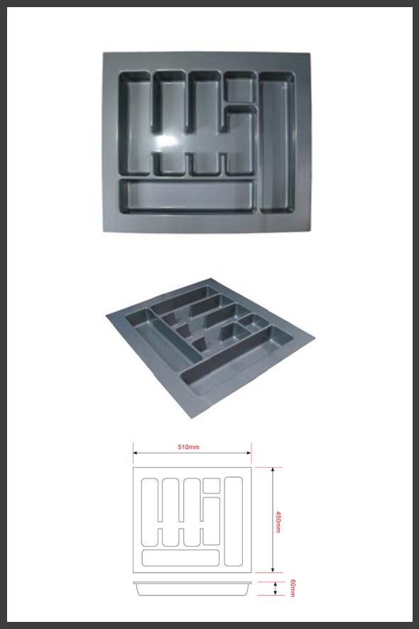 Rak sendok plastik pemasangan dalam laci lintang fittings for Pemasangan kitchen set