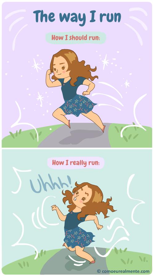 How I really run
