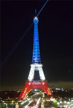 Tour Eiffel - Novembre 2015