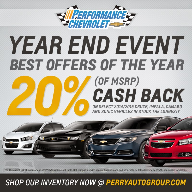 20% Cash Back on Chevrolet Cars near Virginia Beach, VA