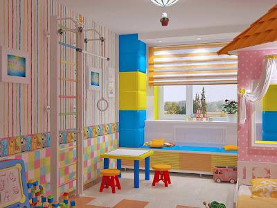 decoração de quarto partilhado por menino e menina