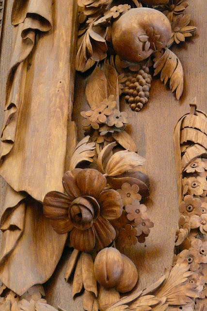 Grinlings Gibons (Grinling Gibbons, Detail from Hampton Court Palace