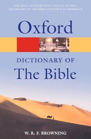 The Oxford Dictionary of the Bible