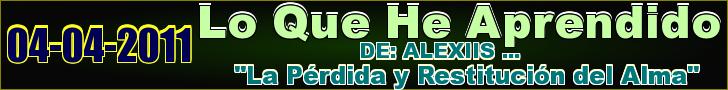 DE: ALEXIIS