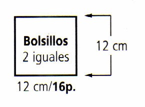 Bufanda Con Bolsillos Tejida en Crochet Paso a Paso