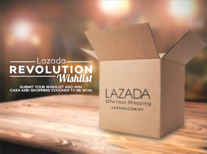 Shopping RM1212 at Lazada Malaysia [Contest]