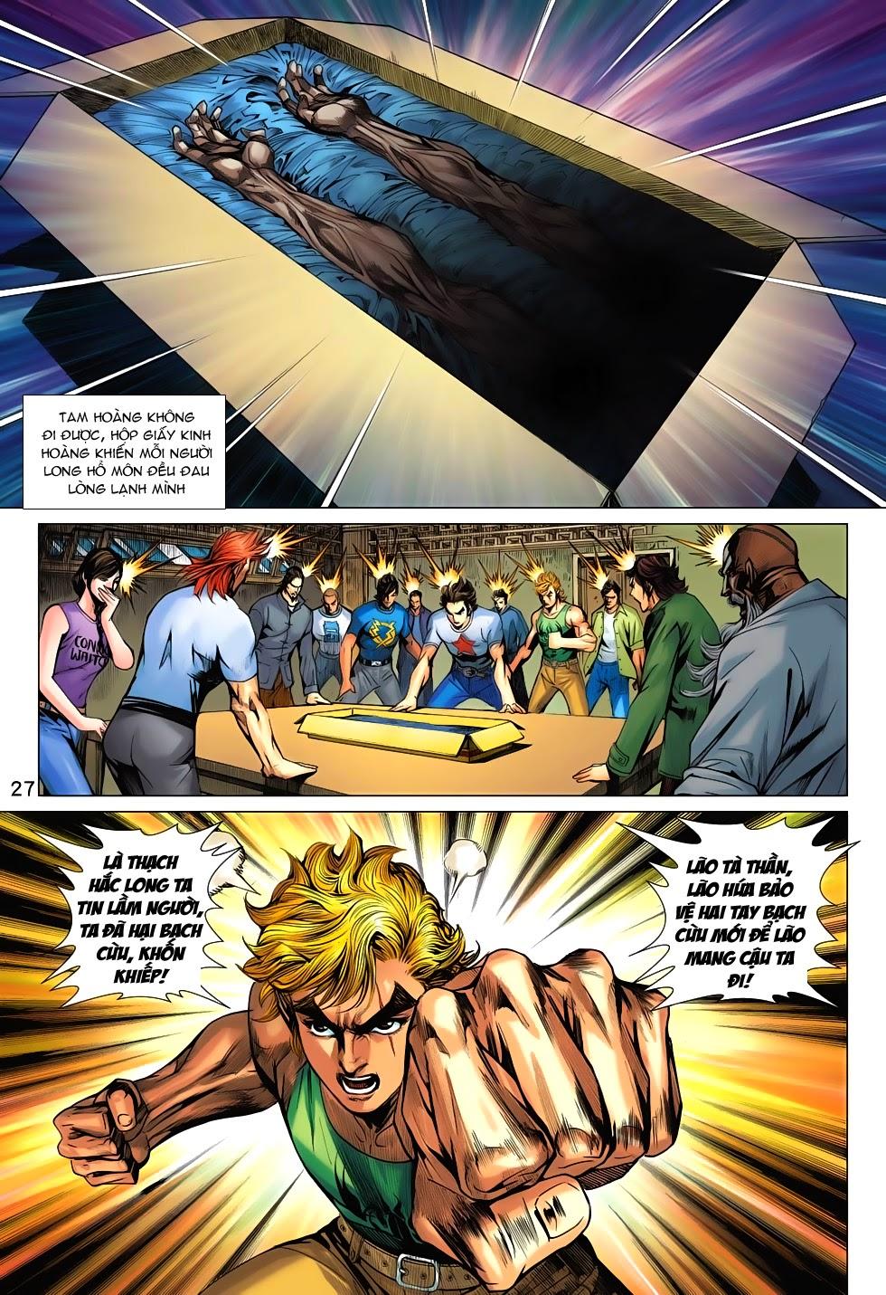 Tân Tác Long Hổ Môn chap 708 - Trang 28
