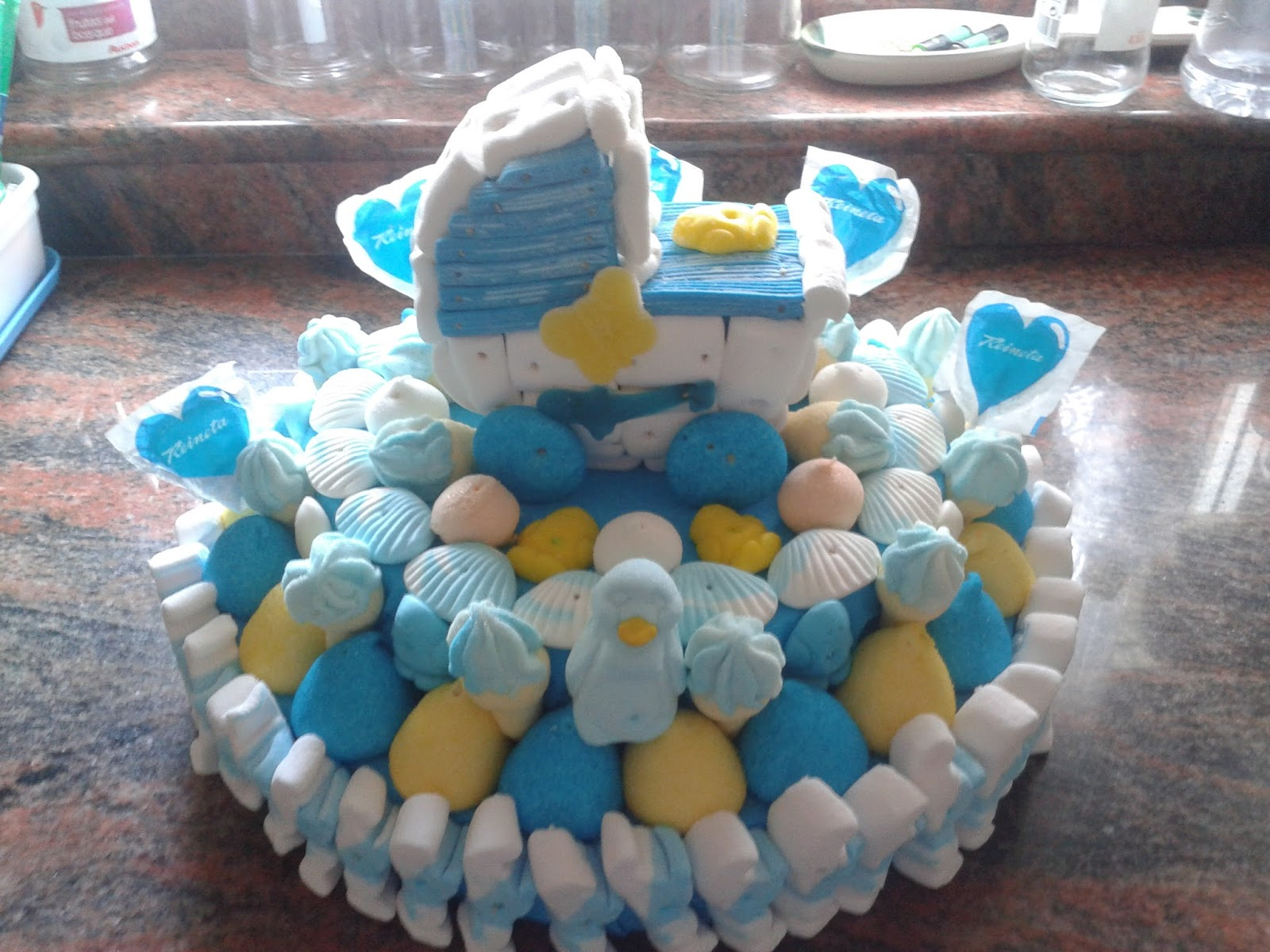 El regalo m s dulce tartas chuches y mucho m s tarta - Chuches para bautizo ...