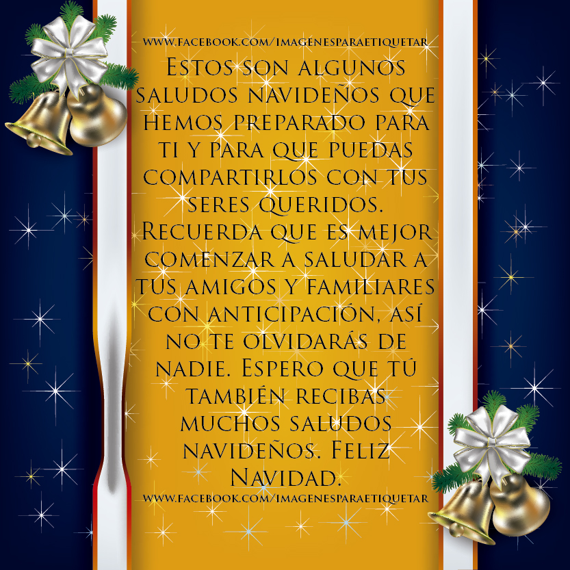 postales navidenas para facebook 2012