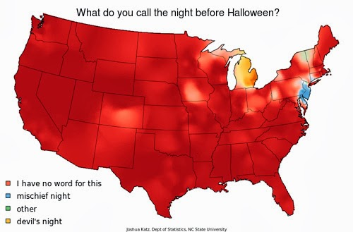 Damn Arbor: What do you call the night before Halloween?