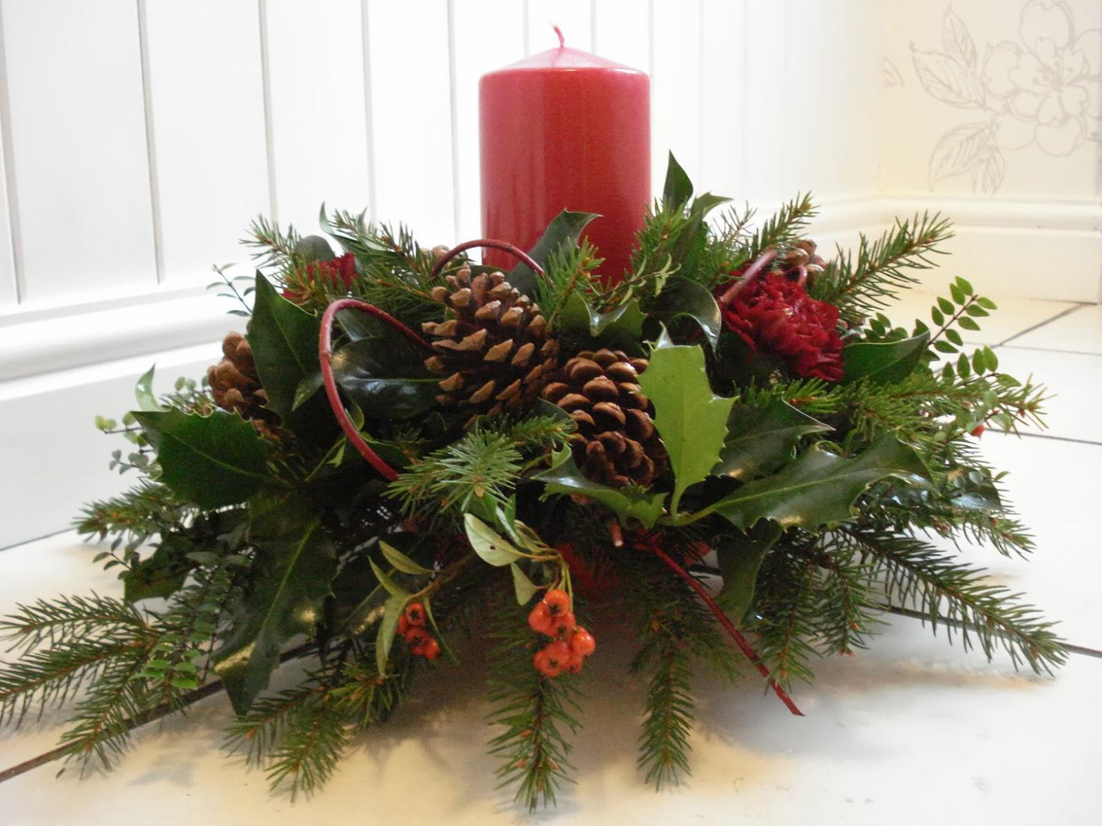 christmas flower arrangement ideas Book Covers