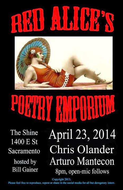 RED ALICE'S POETRY EMPORIUM at SHINE Wed. (4/23)