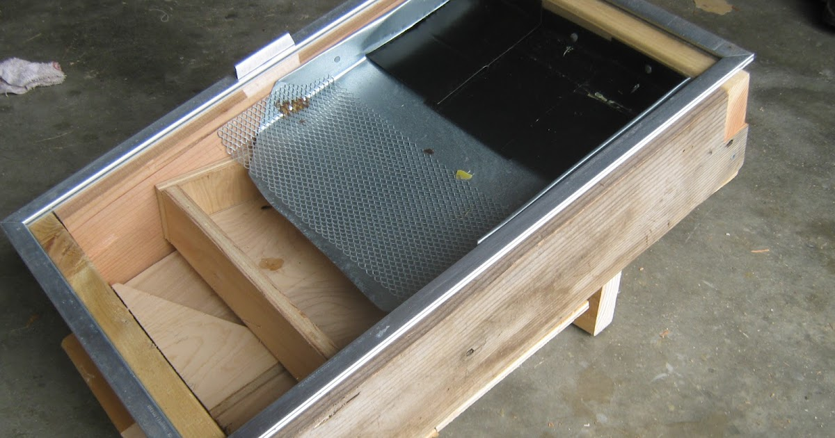 Simply Resourceful Solar Wax Melter