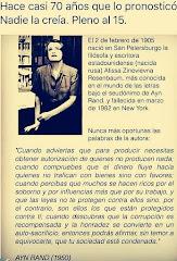 A Ayn Rand nadie la creía en 1905