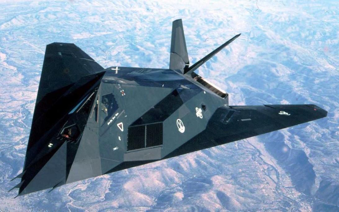 F-117 Nighthawk, Wallpaper Foto Jet Tempur Siluman 1