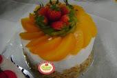 Fruit Flan Cake
