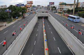 Obras Públicas cerrará el túnel de Las Américas este martes en la noche por trabajos de iluminación