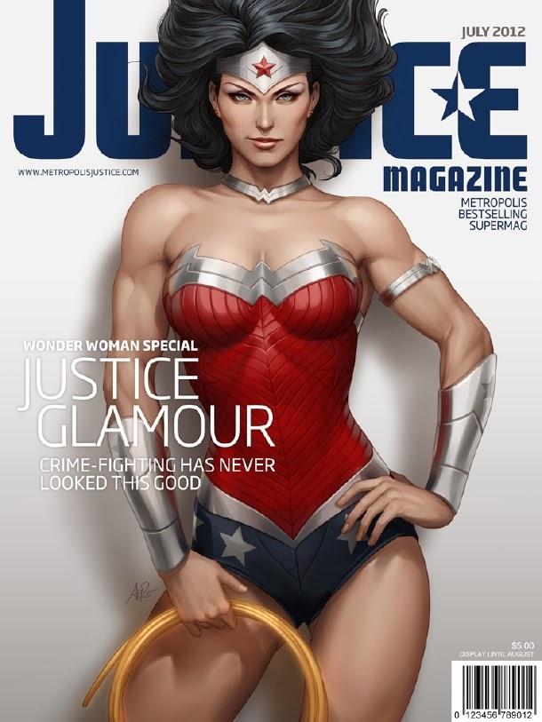 Wonder Woman Justice Magazine