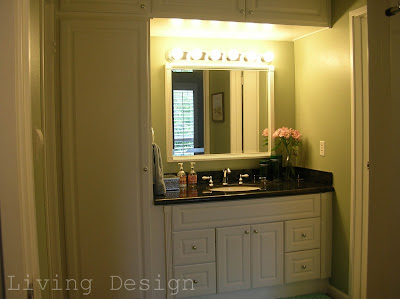 Living Design: Bathroom and Vanity