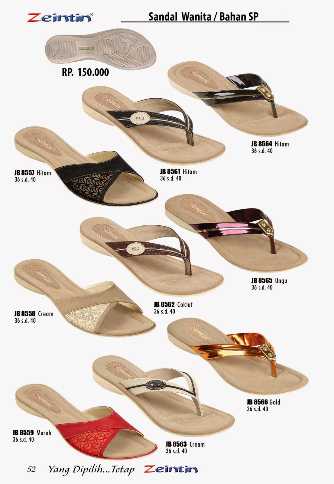 Sandal Teplek Wanita Zeintin Katalog Edisi Brilian 11