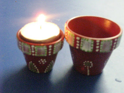 How To Make A Heater With Tea Candles Clay Pots