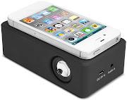 Empresa lança caixa de som para iPhone, sem fios ou bluetooth