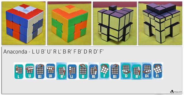 Vijayatm Rubik's Cube Fun Patterns Normal Vs Mirror Cube Awesome Rubix Cube Pattern