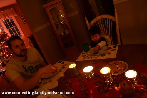 solstice, dinner