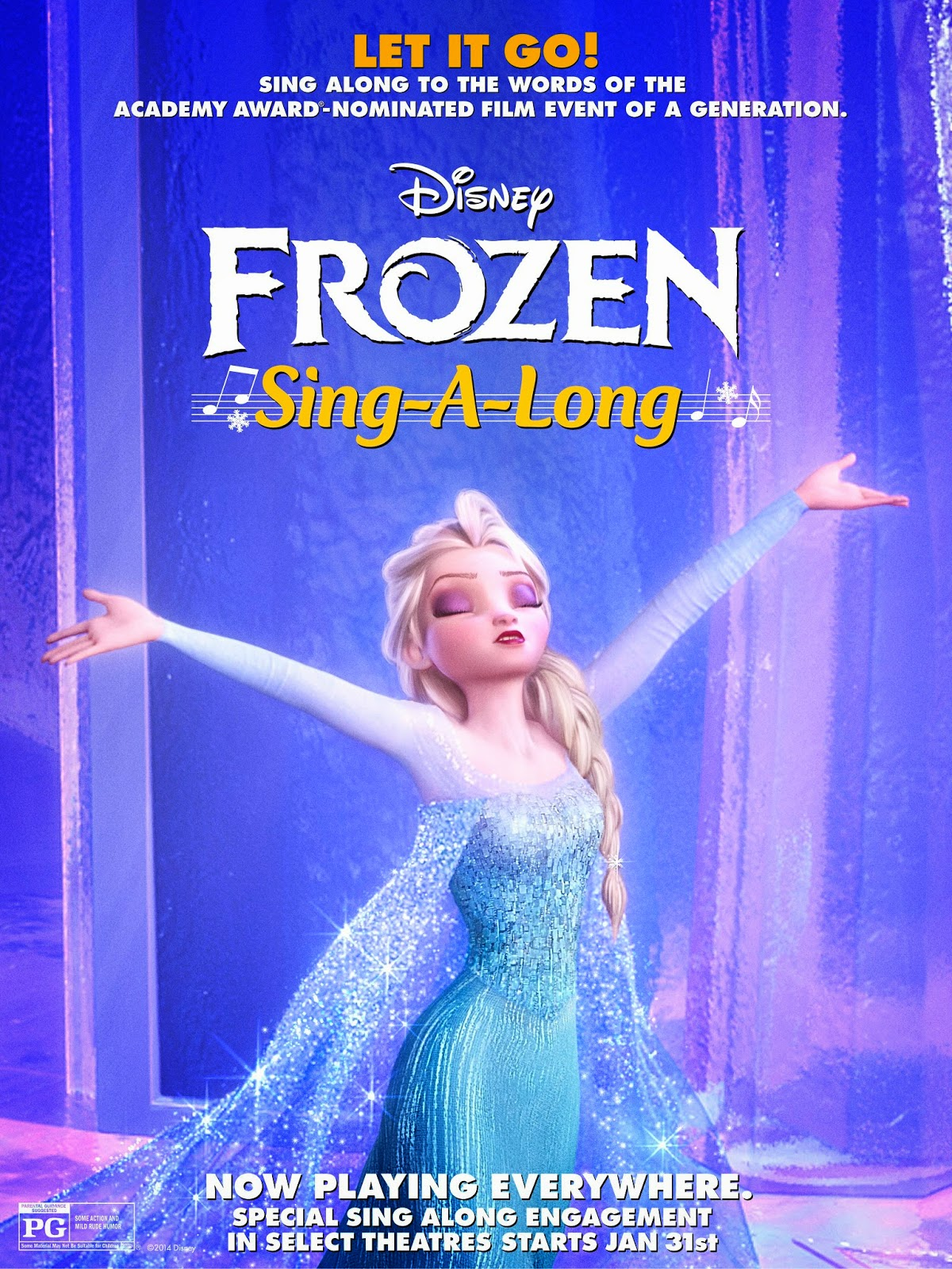 "Disney's #Frozen - ""Let It Go"" Sing-Along Video"