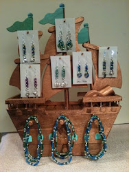 Display for Sea Notes Jewelry