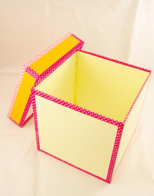 cartonaje y decorar cajas