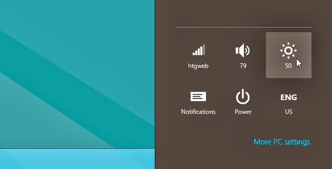 cara atasi windows 8 layar redup atau kurang cerah 2