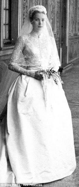 princess grace kelly wedding dress. to Princess Grace Kelly#39;s