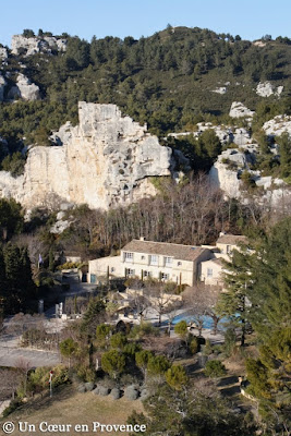 View of Baux-de-Provence